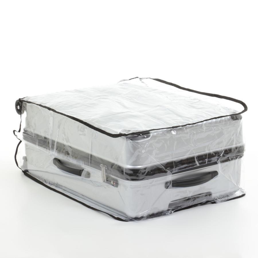 スーツケース スーツカバン レインカバー キャリーバッグ 防水 傷 汚れ 雨 保護 旅行 出張 クリア 透明 ラゲッジ ワゴン ビニール トラベル|innovationfactory247|06