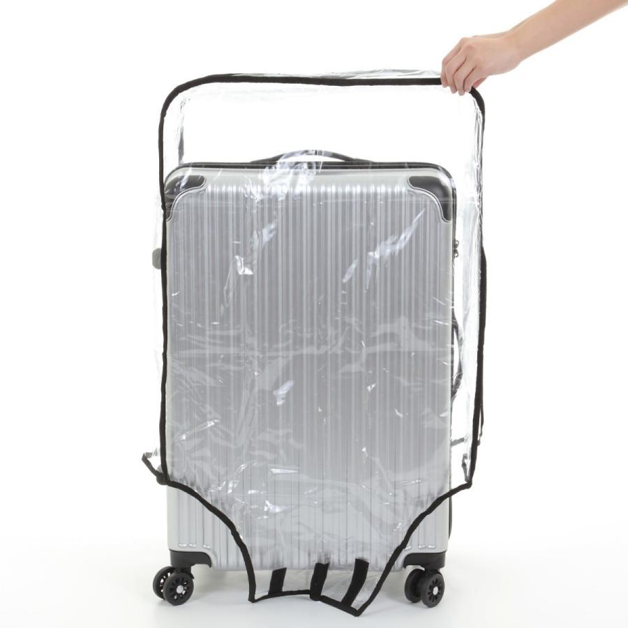 スーツケース スーツカバン レインカバー キャリーバッグ 防水 傷 汚れ 雨 保護 旅行 出張 クリア 透明 ラゲッジ ワゴン ビニール トラベル|innovationfactory247|07