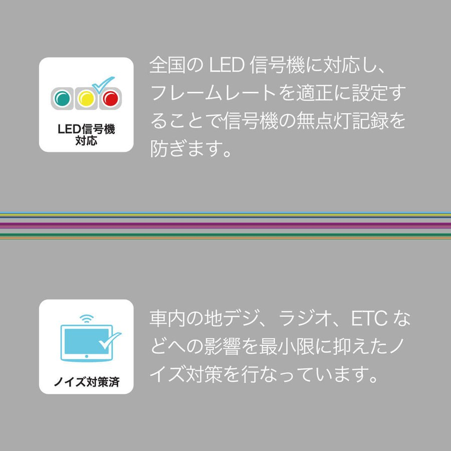 innowa (イノワ) 3Vision 前中後3カメラ同時録画 ドライブレコーダー 常時/衝撃録画 64GBのSDカード付 2年保証 innowa 11