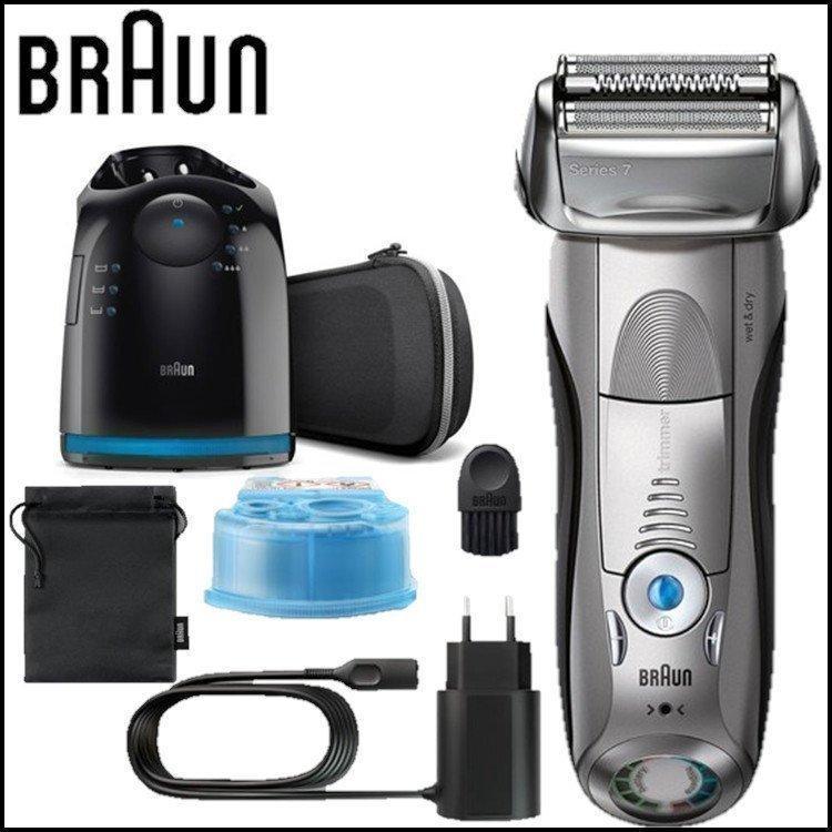 シェーバー ブラウン シリーズ7 髭剃り 防水 メンズシェーバー 7898cc-P BRAUN|insair-y