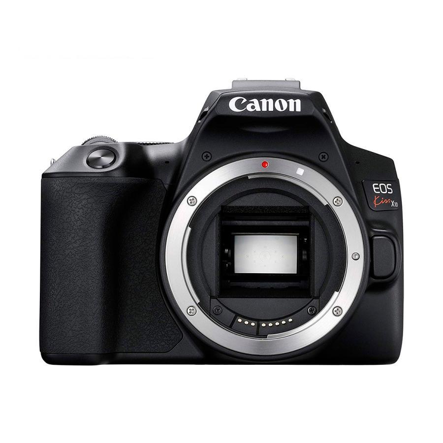 海外限定 Canon デジタル一眼レフカメラ EOS Kiss X10 ブラック 定番から日本未入荷 イオス キヤノン ボディ EOSKISSX10BK