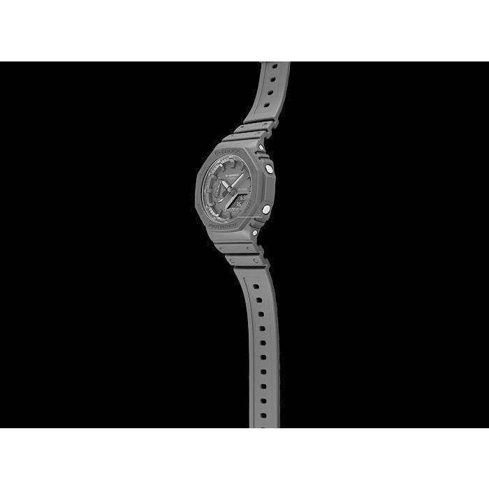 カシオーク 限定モデル G-SHOCK Gショック ジーショック カシオ CASIO アナデジ 腕時計 オールブラック GA-2100-1A1JF GA-2100-1A1 国内正規モデル inst 05