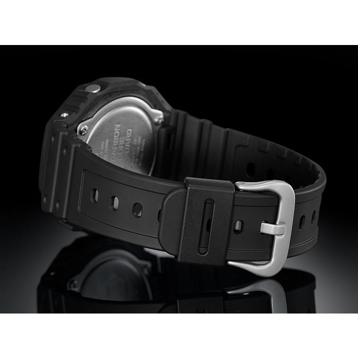 カシオーク 限定モデル G-SHOCK Gショック ジーショック カシオ CASIO アナデジ 腕時計 オールブラック GA-2100-1A1JF GA-2100-1A1 国内正規モデル inst 06
