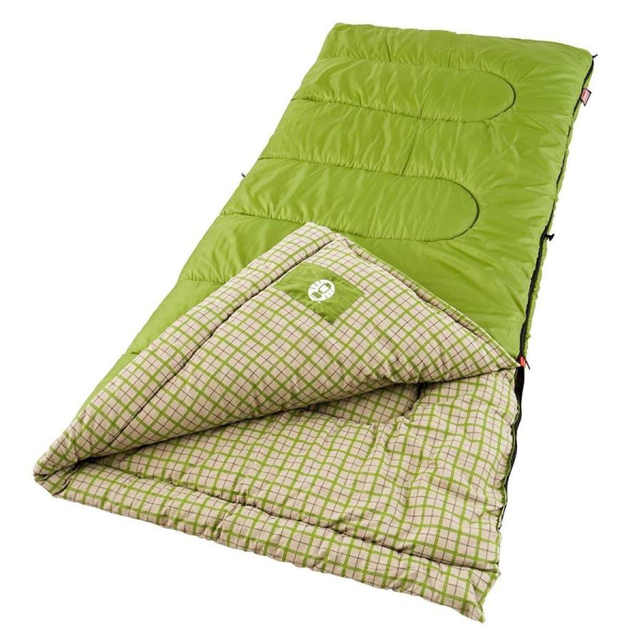 Coleman(コールマン) GREEN VALLEY (グリーン バレー ) 寝袋 最適温度 -1.1 〜 10 ℃ 180cmまで対応