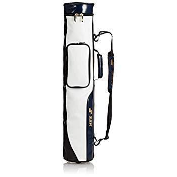 エスエスケイ バットケース エナメルバットケース BH5001 ホワイト×ネイビー(1070)