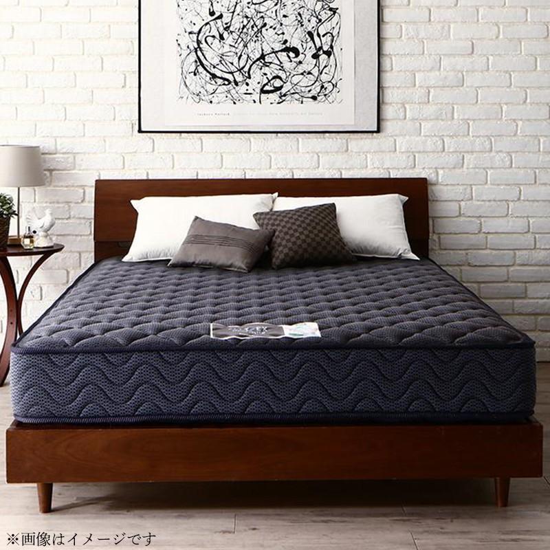 フランスベッド 端までしっかり寝られる 純国産 マットレス プロ・ウォールワイド ダブル 送料無料