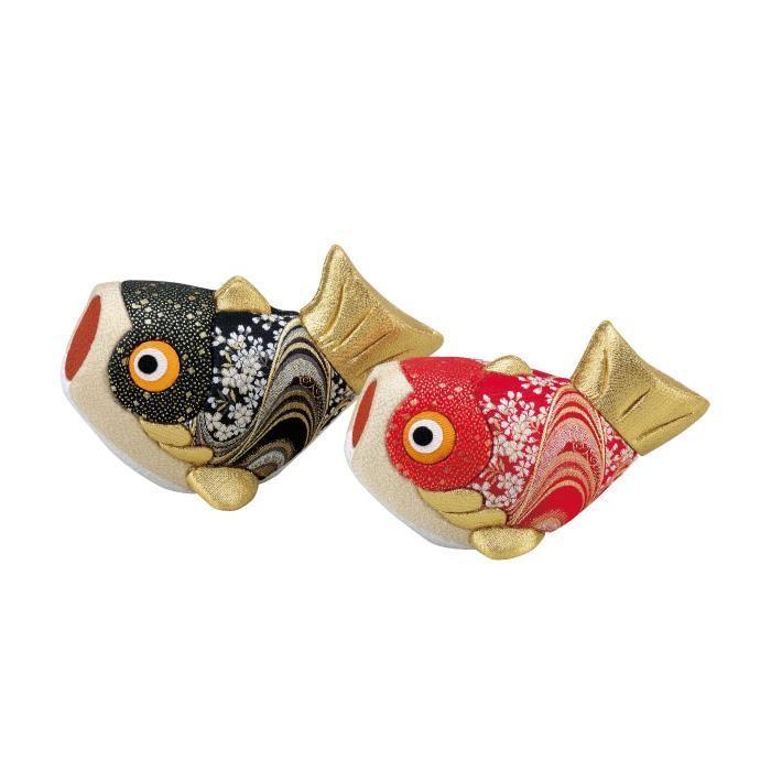 【同梱・代引き不可】 01-746 夫婦鯉 完成品