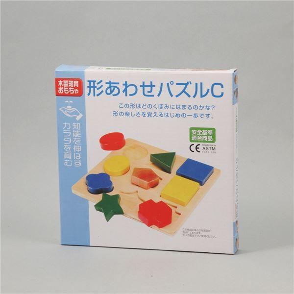 送料無料(まとめ)アーテック 形あわせパズル C(木製玩具) 〔×36セット〕