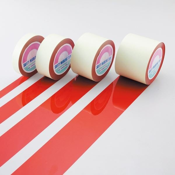 送料無料ガードテープ GT-101R カラー:赤 100mm幅〔代引不可〕