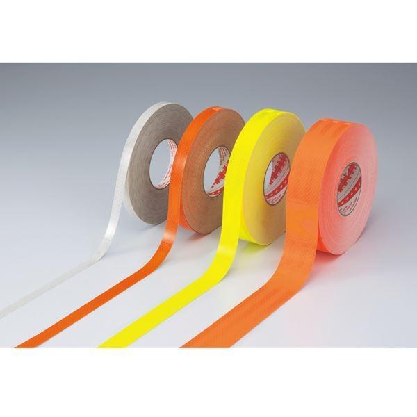 送料無料高輝度反射テープ SL3045-KYR カラー:蛍光オレンジ 30mm幅〔代引不可〕