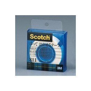 送料無料(業務用100セット) スリーエム 3M はってはがせるテープ小巻 811-1-12C