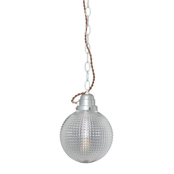 送料無料ペンダントライト/照明器具 送料無料ペンダントライト/照明器具 〔1灯〕 ガラス/スチール製 ELUX(エルックス) GALU-1:Sphere 〔電球別売〕〔代引不可〕
