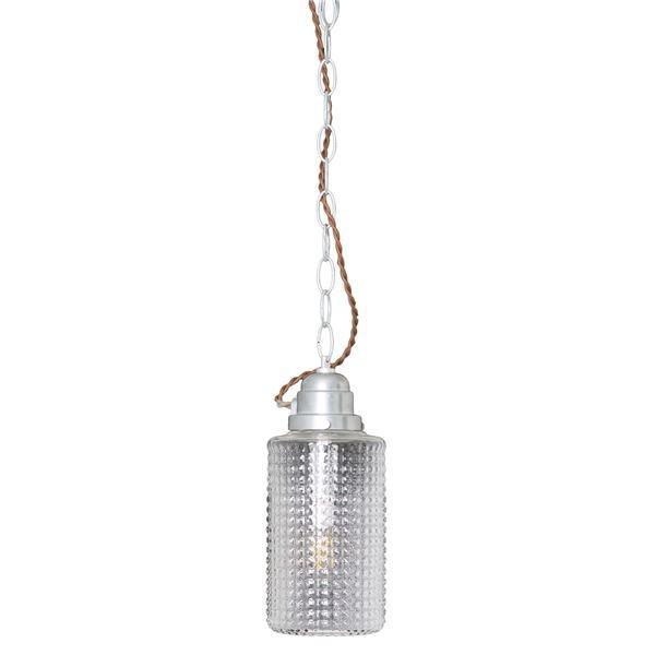 送料無料ペンダントライト/照明器具 〔1灯〕 ガラス/スチール製 ELUX(エルックス) ELUX(エルックス) GALU-1:Cylinder 〔電球別売〕〔代引不可〕