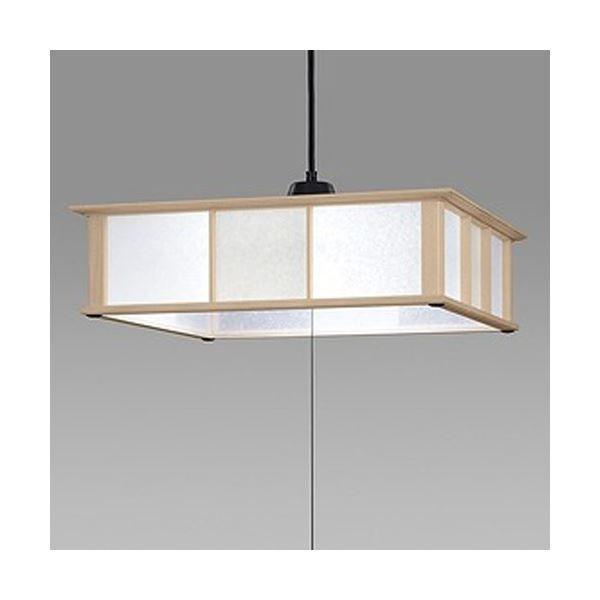 送料無料日立 LED和風木枠ペンダントライト〜12畳 LEP-CA1202EJ