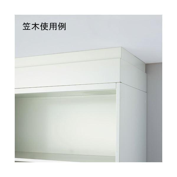 送料無料プラス Je保管庫 笠木 笠木 JE-AH2 W4