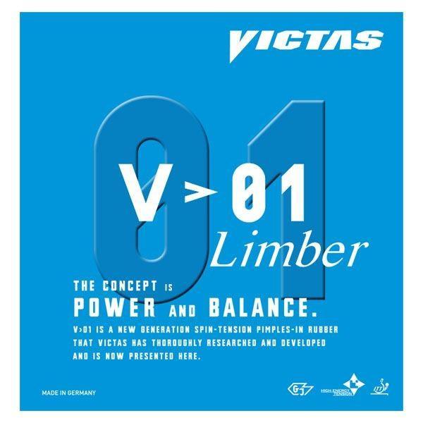 送料無料ヤマト卓球 VICTAS(ヴィクタス) 裏ソフトラバー V〕01 リンバー 020341 レッド 1.8
