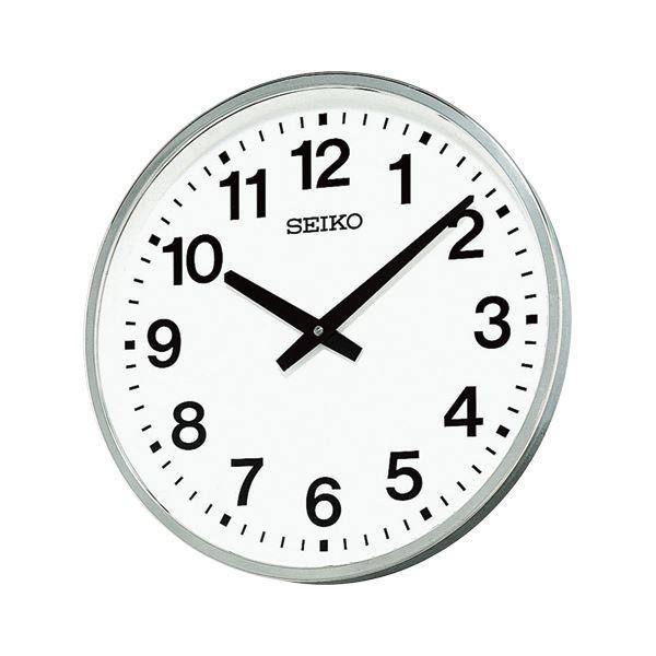 送料無料セイコークロック 屋外・防雨型掛時計 KH411S