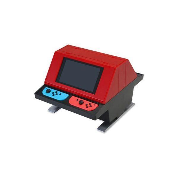 送料無料コロンバスサークル Switch用 対面型アーケードスタンド レッド CC-NSTAS-RD