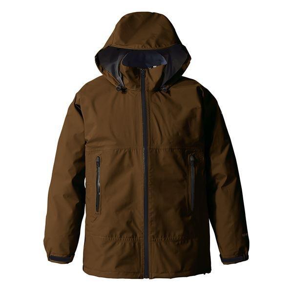 送料無料PUROMONTE(プロモンテ) Rain Wear GORE-TEX パックライト レインスーツ (メンズ) ブラウン XL