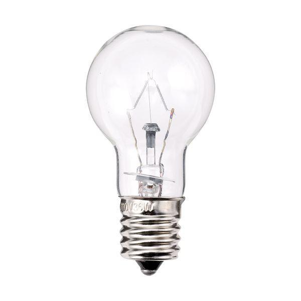 送料無料(まとめ) TANOSEE ミニクリプトン電球 60W形 E17口金 クリアタイプ 1パック(6個) 〔×10セット〕