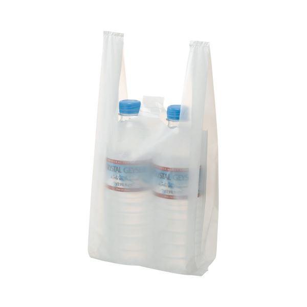 送料無料(まとめ) TANOSEE 乳白レジ袋 8号 ヨコ155×タテ330×マチ幅95mm 1パック(100枚) 〔×100セット〕
