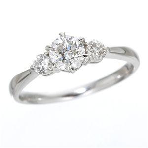 買い保障できる 送料無料K18ホワイトゴールド0.7ct ダイヤリング 指輪 キャッスルリング 13号, よねや c730ea48