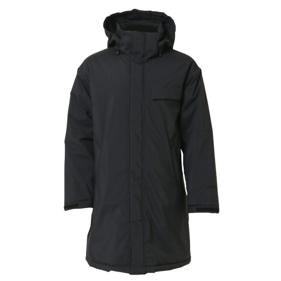 WT-335-L ゴアテックスインフィニアムパデット黒 L ゴアテックス コート メンズ メンズコート 冬 冬用 ロングコート 黒 フード 保温 防寒コート アウター 防寒