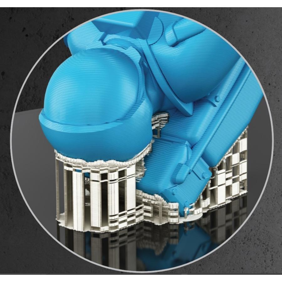 3Dプリンター MAESTRO 2.5EX 本体【DIY組み立てキット】卓上FDM (熱溶解積層式)プリンター 大サイズ印刷 2色印刷 ヒートベッド付属 interbb 04