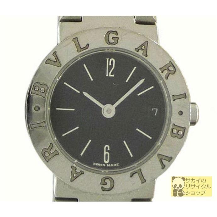熱販売 BVLGARI BVLGARI SS レディース腕時計 SS クオーツ クオーツ BVLGARI ブラック文字盤, 長岡京市:0c2e325d --- airmodconsu.dominiotemporario.com