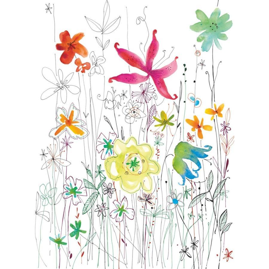 おしゃれな輸入壁紙 花柄 クロス 不織布 フリース ドイツ製 Joli