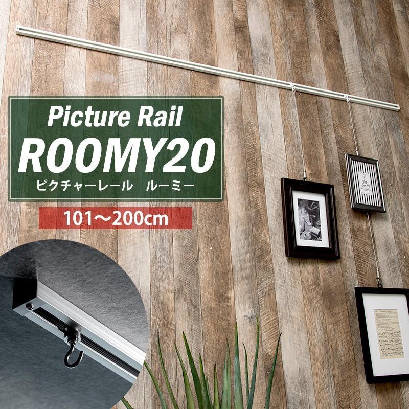 ピクチャーレール 壁 天井 新作アイテム毎日更新 DIY ディスプレイ JQ ルーミー20 (訳ありセール 格安) アッパーモデル 2mまで 標準セット