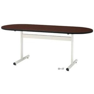 TOKIO TT-TW1890R W1800×D900×H700 ミーティングテーブル(楕円型・塗装脚) W1800×D900×H700 ミーティングテーブル(楕円型・塗装脚)