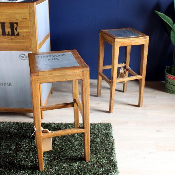 カウンターチェア バーチェア チェア 椅子 訳あり 高さ75 チェアー チェアー ビンテージ 木脚 北欧 おしゃれ 完成品