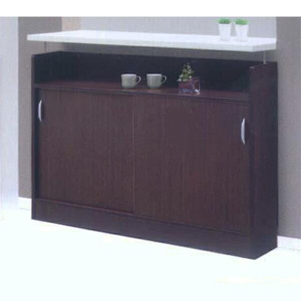 カウンター下収納 キッチンカウンター キッチンカウンター 幅120 引き戸 日本製 スライド扉