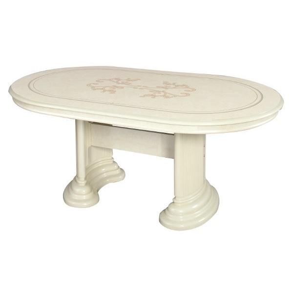 【送料無料】 サルタレッリ フローレンス ダイニングテーブル アイボリー SFLI-519-IV