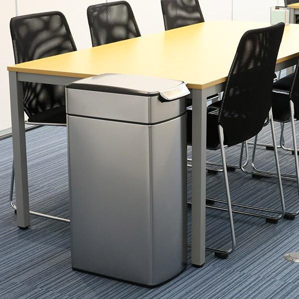 正規品 ゴミ箱 シンプルヒューマン スリム ふた付き simplehuman 40L スリムタッチバーダストボックス ( 送料無料 縦型 ごみ箱 キッチン 分別 )|interior-palette|12