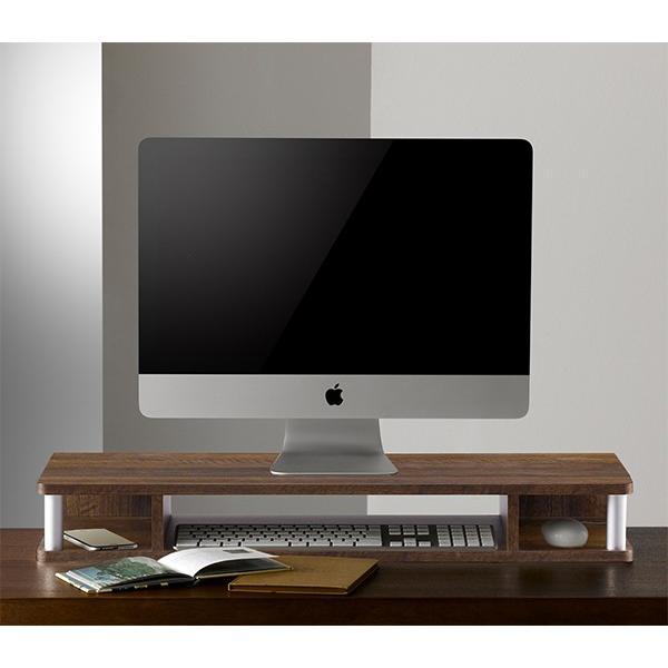 テレビ台 AVボード ちょい足しラック 幅79cm ブラック ( PC台 パソコン台 TVボード テレビラック TV台 高さ調整 高さ足し )|interior-palette|11