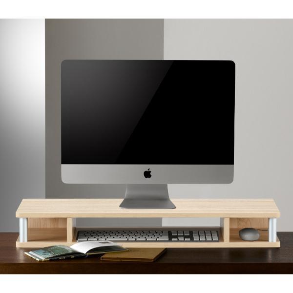 テレビ台 AVボード ちょい足しラック 幅79cm ブラック ( PC台 パソコン台 TVボード テレビラック TV台 高さ調整 高さ足し )|interior-palette|13