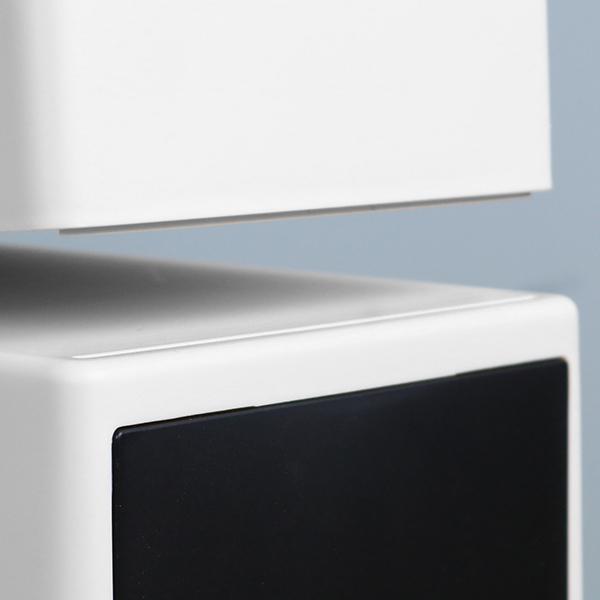 ゴミ箱 横型 フロントオープンダスト アースピース 浅型 ふた付き スタッキング 17L ( ごみ箱 17リットル フロントオープン 蓋つき 横 角型 キッチン )|interior-palette|07