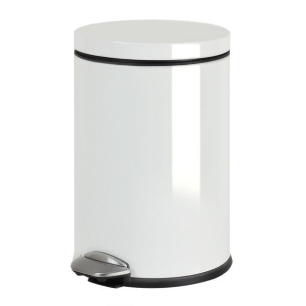 ゴミ箱 ペダル EKO ルナ ステップビン 8L ホワイト ( ごみ箱 ダストボックス おしゃれ ステンレス シンプル インナー付 洗える )|interior-palette|03