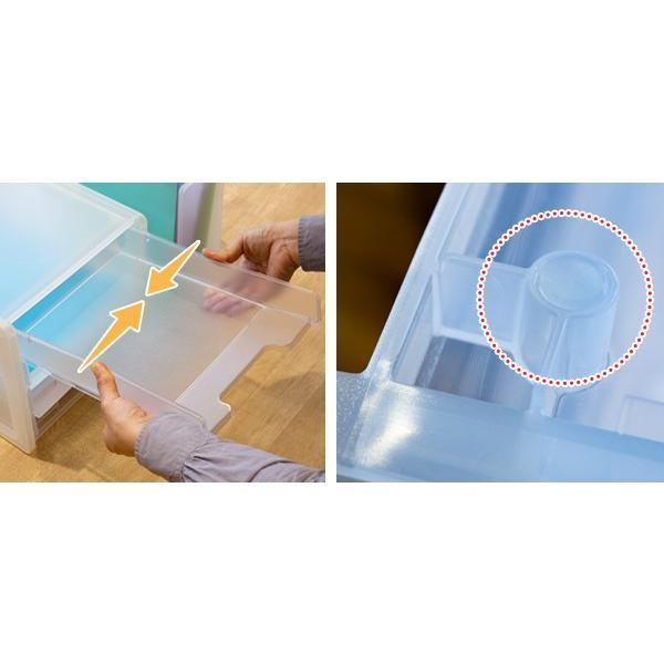 レタートレー A4 4段 半透明 squ+ ナチュラ ソーフィス ( 収納 デスクトレー レタートレイ ) interior-palette 07