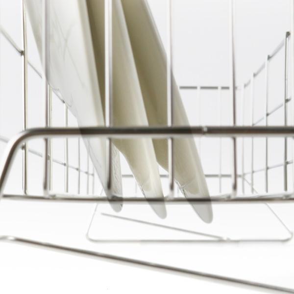 水切りラック スリム 幅20cm シンクサイド 燕三条 ステンレス製 ( 水切りカゴ 水切りかご 水切りバスケット )|interior-palette|13