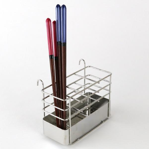 水切りラック スリム 幅20cm シンクサイド 燕三条 ステンレス製 ( 水切りカゴ 水切りかご 水切りバスケット )|interior-palette|10