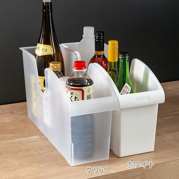 キッチン収納ケース シンクボックスM コロ付き 幅14.5cm クリア ( 収納ボックス 整理ケース シンク下ボックス )|interior-palette|02