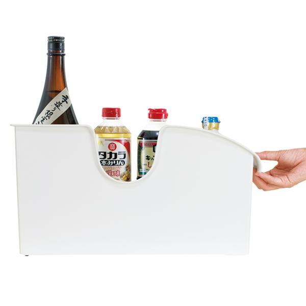 キッチン収納ケース シンクボックスM コロ付き 幅14.5cm クリア ( 収納ボックス 整理ケース シンク下ボックス )|interior-palette|07