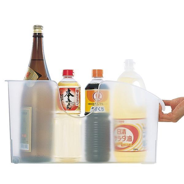 キッチン収納ケース シンクボックスM コロ付き 幅14.5cm クリア ( 収納ボックス 整理ケース シンク下ボックス )|interior-palette|08