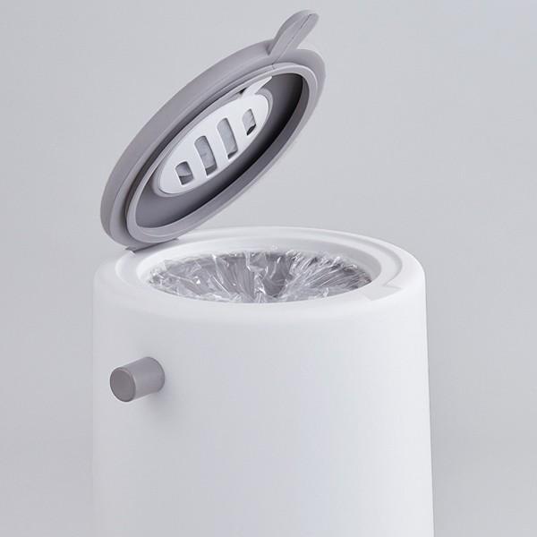 ゴミ箱 密閉 20L 防臭 おむつ ふた付き 臭わない 消臭 パッキン ダイパーポット ( ごみ箱 プッシュ 分別 おむつペール オムツ 生ゴミ ペット ダストボックス )|interior-palette|15