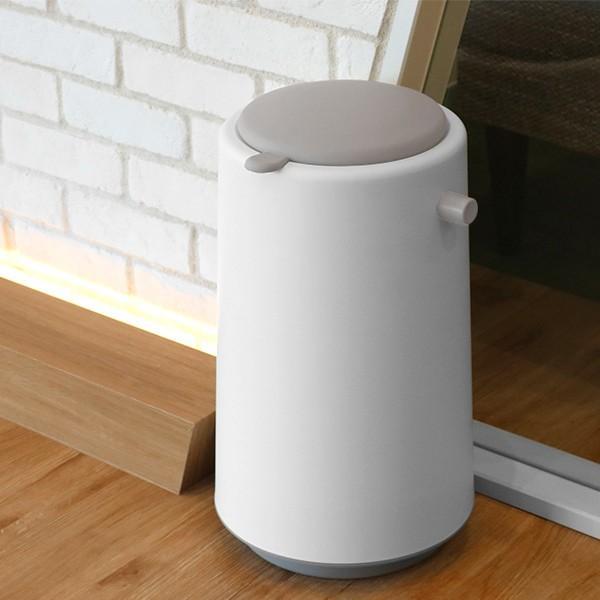ゴミ箱 密閉 20L 防臭 おむつ ふた付き 臭わない 消臭 パッキン ダイパーポット ( ごみ箱 プッシュ 分別 おむつペール オムツ 生ゴミ ペット ダストボックス )|interior-palette|18