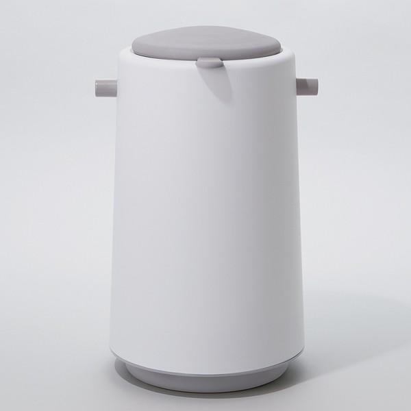 ゴミ箱 密閉 20L 防臭 おむつ ふた付き 臭わない 消臭 パッキン ダイパーポット ( ごみ箱 プッシュ 分別 おむつペール オムツ 生ゴミ ペット ダストボックス )|interior-palette|04