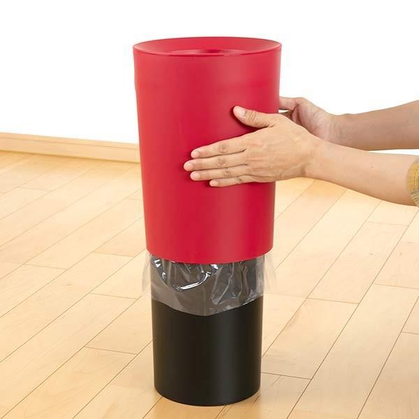 ゴミ箱 6.7L 丸型 くず入れ コンパクト ダストボックス ( ごみ箱 屑入れ リビング 部屋用 寝室 おしゃれ 小型 おすすめ )|interior-palette|05